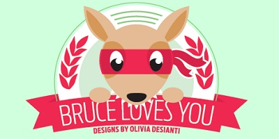 Bruce Loves You - 400x200