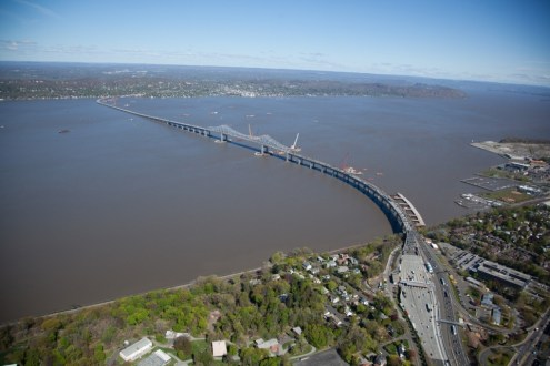 May 2014 - Aerial View of the Existing Bridge from Westchester
