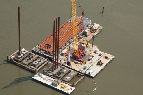 August 2014 - Pile Driving Operations