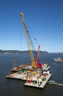 September 2013 - Installation of Test Piles