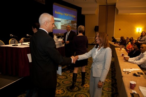 February 2013 - New NY Bridge Disadvantaged Business Enterprises Forum held February 14 2013.