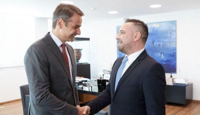 Στη ΝΔ προσχωρεί ο βουλευτής Γιώργος Κατσιαντώνης