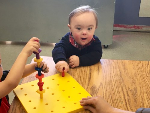 letting go my child with down syndrome early preschool