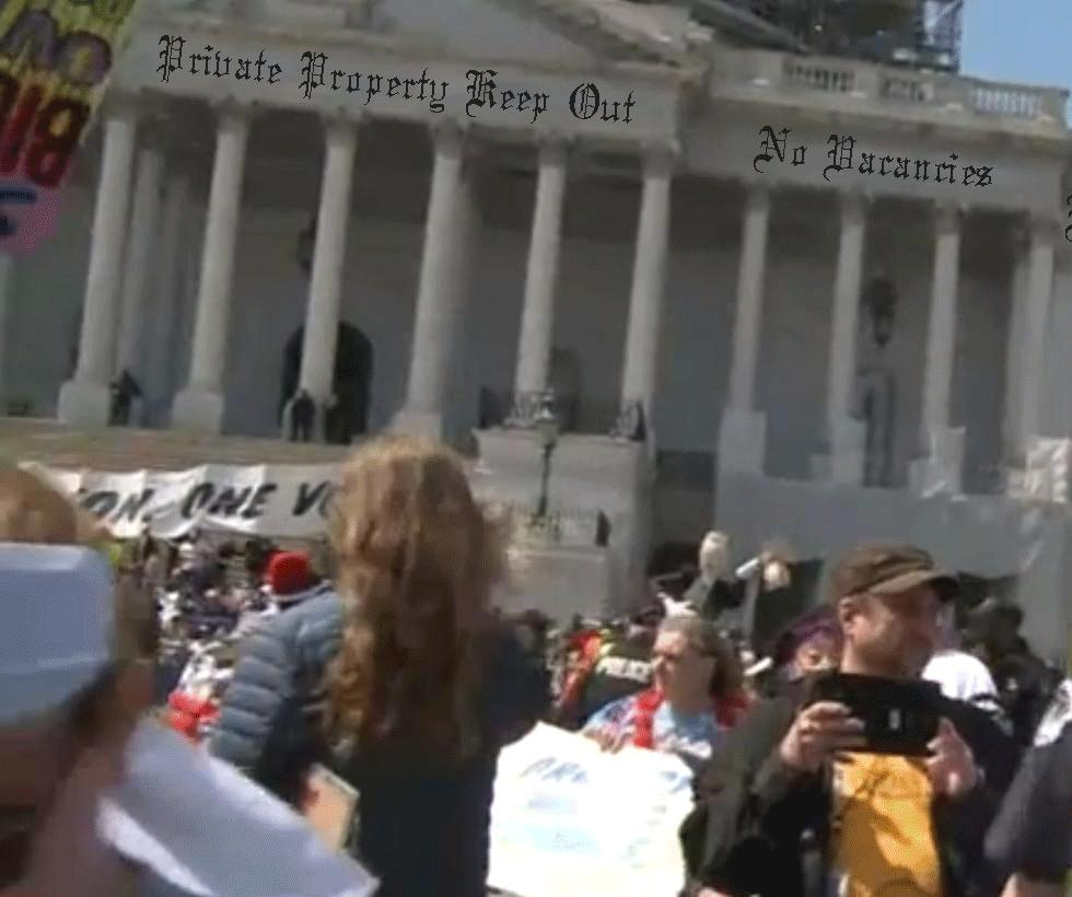 Protesters Arrested at US Capitol Building, America Now Safe