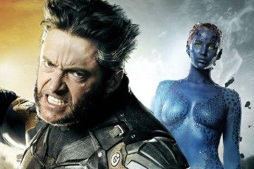 Jennifer Lawrence e Hugh Jackman X Men