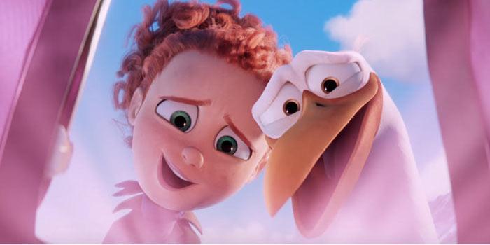 Cicogne in Missione: l'imperdibile film d'animazione con la voce di Alessia Marcuzzi