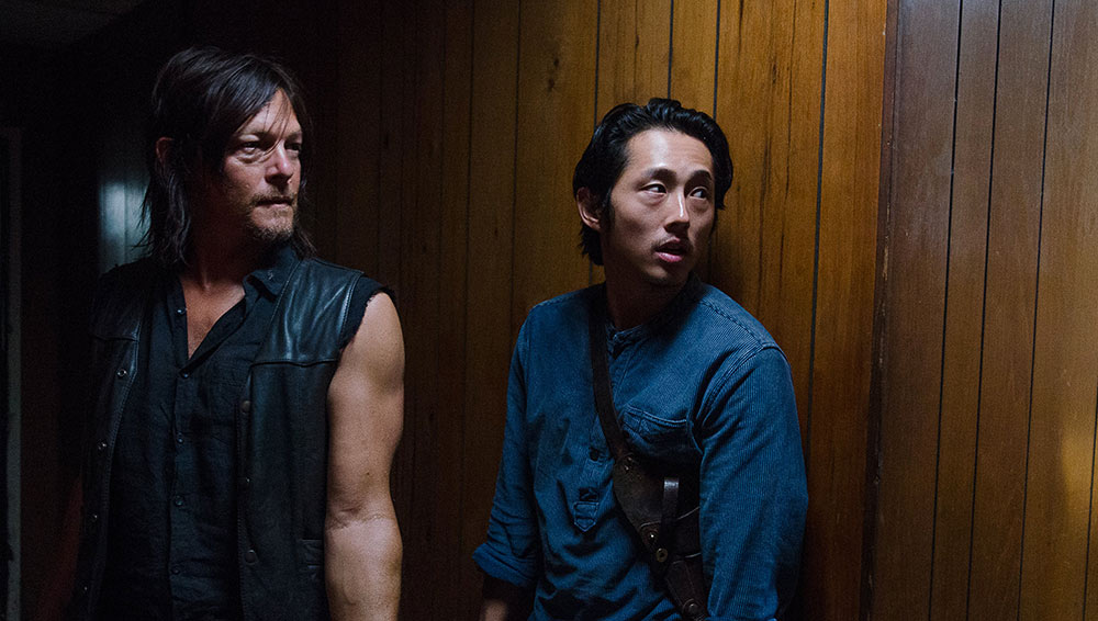 The Walking Dead, il cast e la troupe rendono omaggio a Steven Yeun