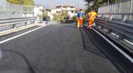 Sant'Agapito: la Provincia sistema il cavalca ferrovia sulla strada provinciale. Domani la riapertura al traffico.