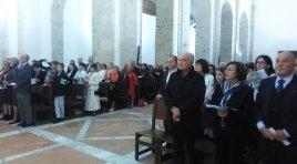 Celebrata la ricorrenza dei Martiri Vulturnensi. L'eccidio saraceno all'Abbazia di San Vincenzo al Volturno. Il video servizio della nostra redazione