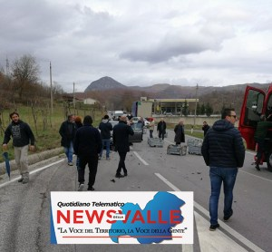 gentte strada incidente