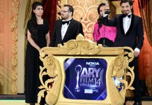 Ali Zafar Wins Film Award
