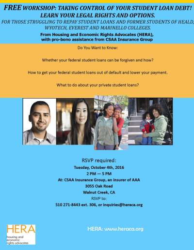 Housing and Economic Rights Advocates (HERA)--Upcoming ...