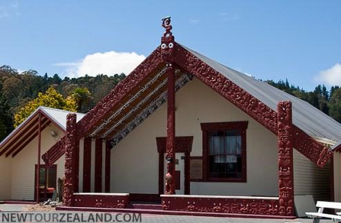 Wahiao Marae, Rotorua, New Zealand