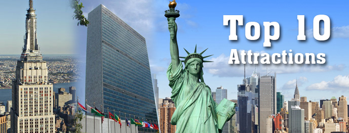 Top 10 must see attractions new york new york visit for Must see nyc attractions