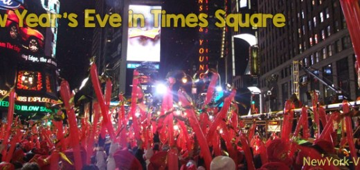 Ball Drop Celebration on New Year's Eve in Times Square