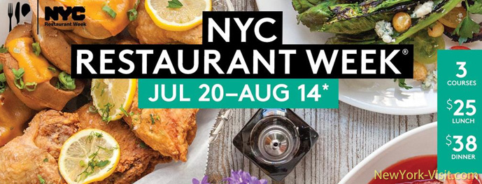 Summer NYC Restaurant Week 2015