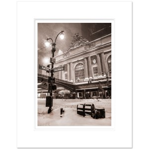 GCTS010-Grand-Central-Terminal-Park-Avenue-Forty-Second-Street- Midtown-Manhattan-NYC-Winter-Art-Print-Sepia-MW1620