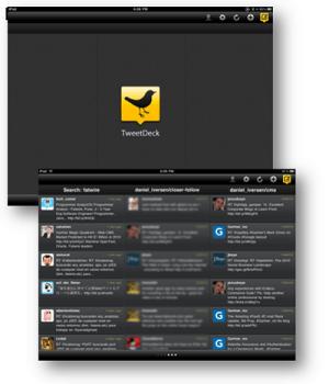 Tweetdesk for iPad screenshot