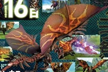 1511-13 Monster Hunter X Rathalos Famitsu