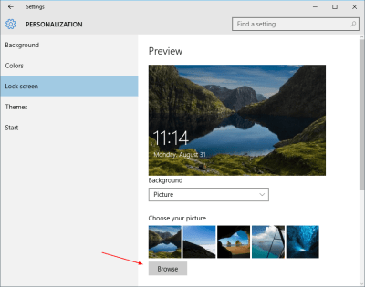 Where Are Desktop Wallpapers and Lock Screen Backgrounds Stored in Windows 10 | Next of Windows