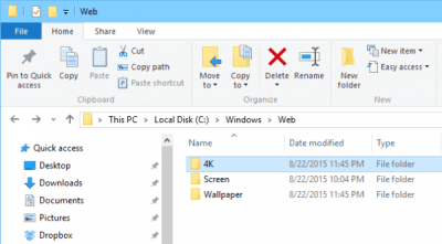 Where Are Desktop Wallpapers and Lock Screen Backgrounds Stored in Windows 10 | Next of Windows