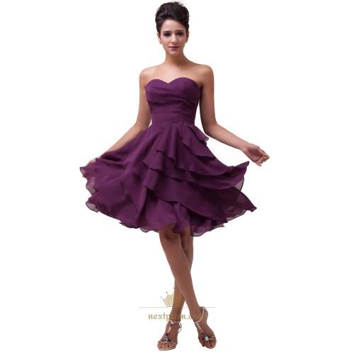 Medium Of Purple Bridesmaid Dresses