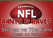 Week 14 Picks
