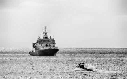 R/V Sally Ride of the coast La Jolla Shores