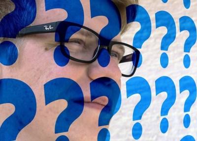 man-questions
