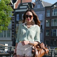 Street Style: Amsterdam Cycle Style & Virgid Canaz