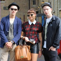 Street Style: Oliver, Alice & George in Spitalfields