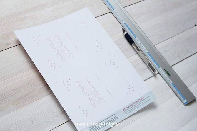 Nice Party invitación imprimible gratis motivo confetti (1)