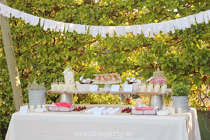 Nice Party mesa de dulces fiesta de verano (8)