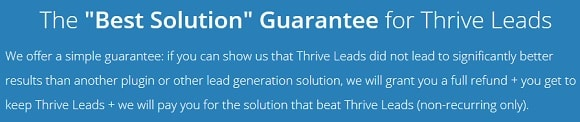 thrive-leads-guarantee