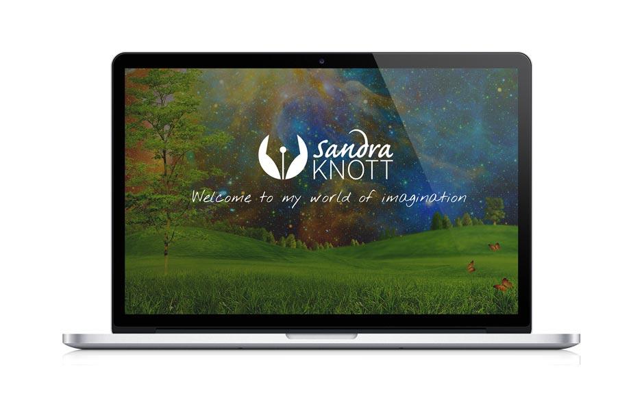 Sandra Knott Website MacBook