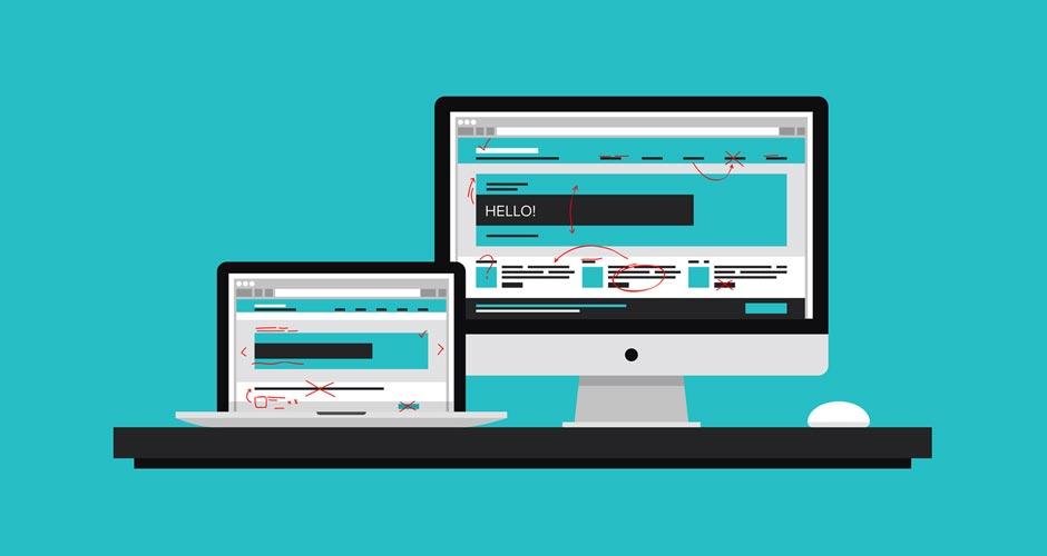 Website Landing Page Design