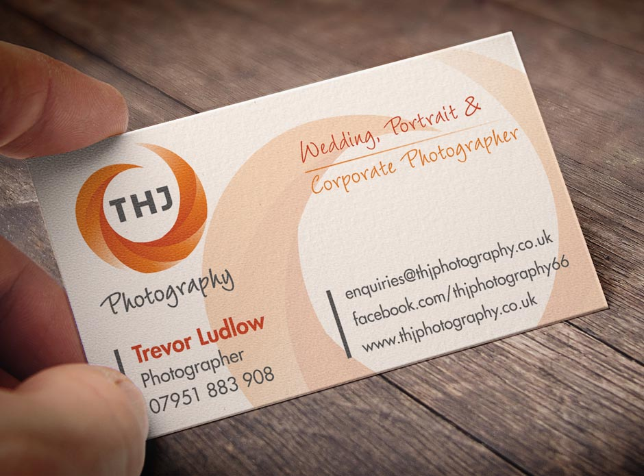 THJ Photography Business Card