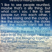 The End of Missing Someone #Quote