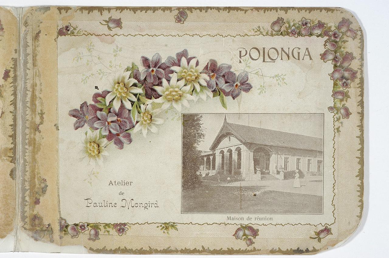 Palanga pirmosios Lietuvoje fotografės moters nuotraukose