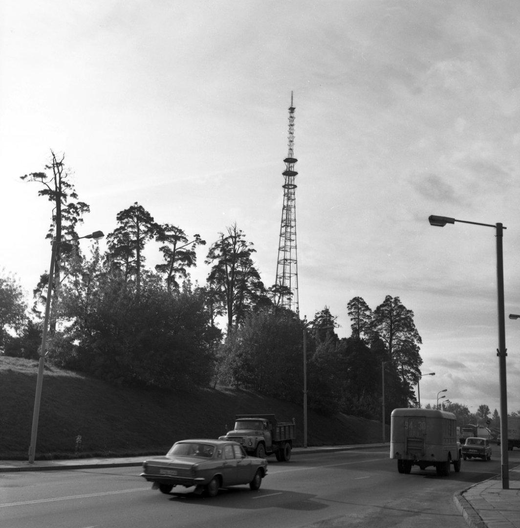 Kas išardė senąjį Vilniaus televizijos bokštą?