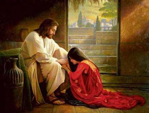 Jezus vergeving Vergeving is de sleutel tot geluk.