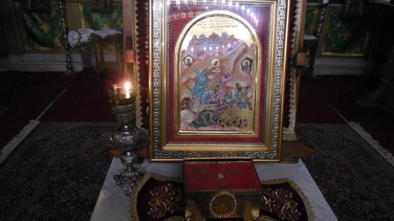 Ευχέλαιο προς τιμήν των οσιομαρτύρων της Ι. Μονής Οσίου Θεοδοσίου του Κοινοβιάρχου