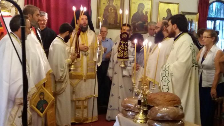 Η Εορτή της Αγ. Σοφίας στην Ι.Μ. Νέας Ιωνίας και Φιλαδελφείας