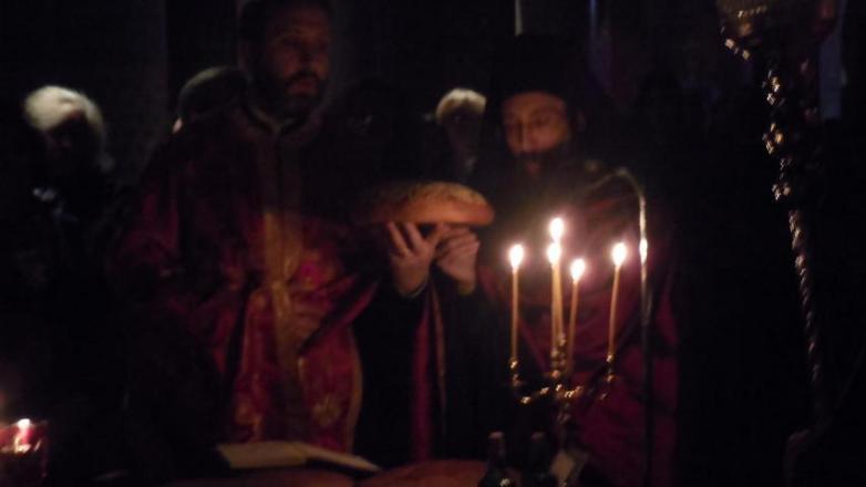 Ιερά αγρυπνία στον Ι. Ν. Αγίου Γεωργίου Π. Ηρακλείου