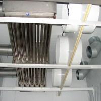 Sistema de ventilación e intercambiador de calor