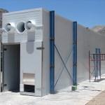 secador continuo tipo túnel