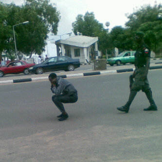 Abuse of power by police officer in Nigeria