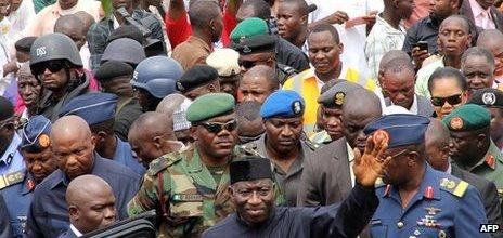 Nigeria president, Goodluck Jonathan