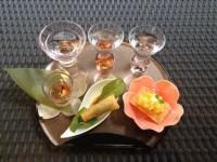 Dégustation de trois Sakés Japonais