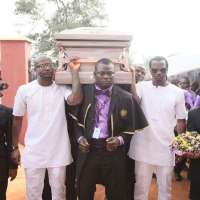 [PHOTO NEWS] P Square father's Burial